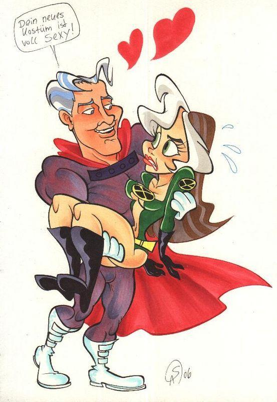 CIL: Magneto & Rogue von Stefanie