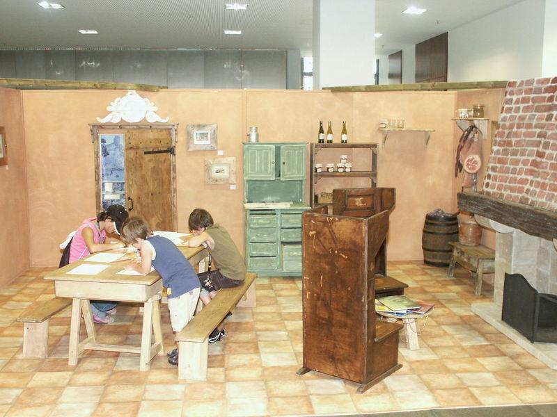 Teil der Ausstellungen