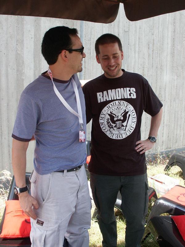 Meet und Greet mit Humberto Ramos und dem Gewinner Rainer S. aus Witten