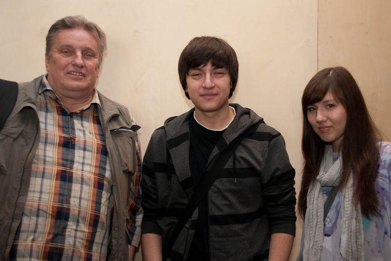 Peter Skodzik und Kinder