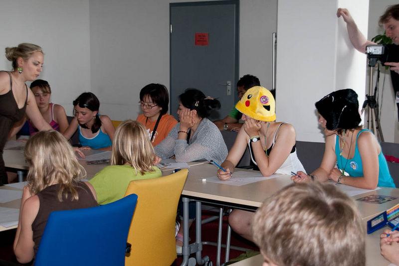 Manga-Workshop mit Alexandra V�lker