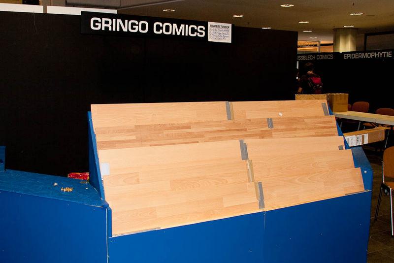 Gringo Comics hatte auch abgebaut