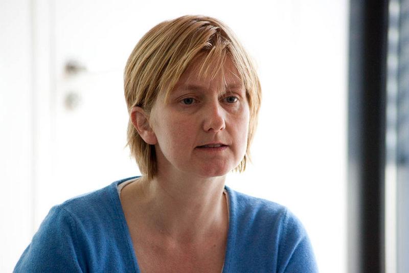 """Isabel Enzenbach bot den Workshop """"Gezeichnete Juden"""" an"""