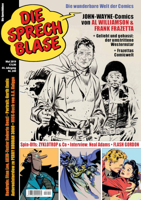 Cover der Sprechblase 240