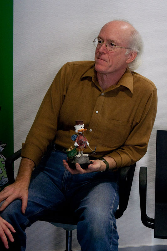 Don Rosa beim Interview