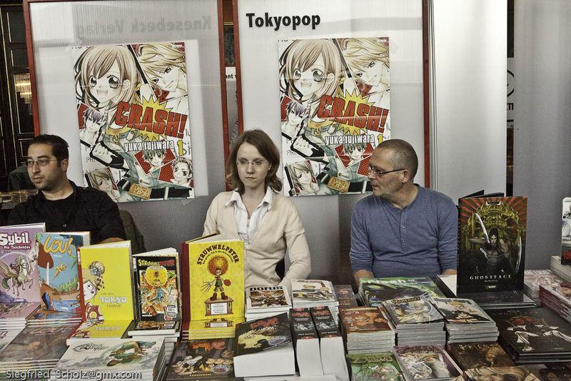 Verlagsstand Tokoyopop