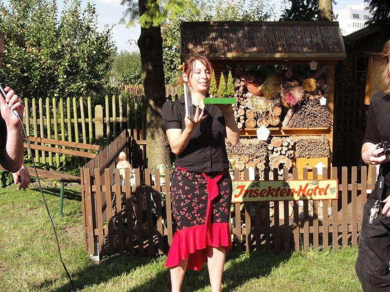 Sara Burrini bei der Preisverleihung