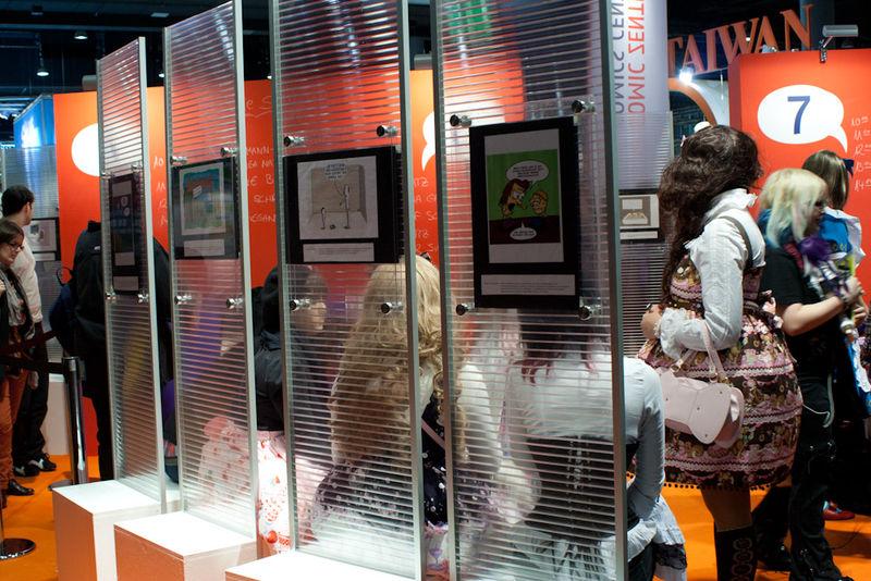 Ausstellung im Comiczentrum