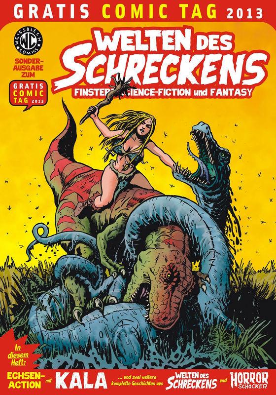 Gratis Comic Tag 2013 - Welten des Schreckens - Weissblech