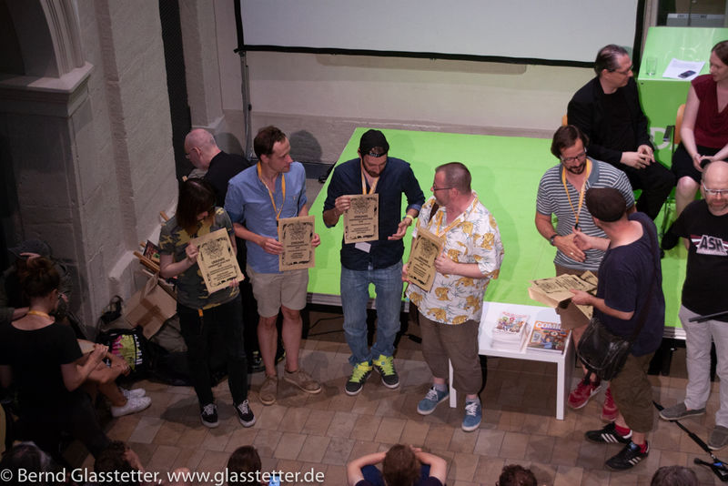Die Verleihung des ICOM-Preises